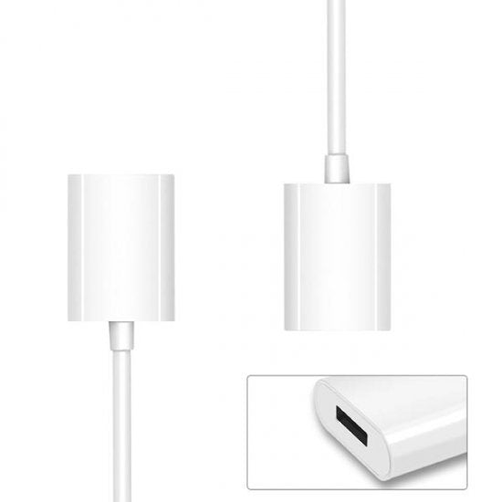 Lightning Female to Female for Converting USB-Lightning Cable to Charging Apple Pencil for iPad Pro