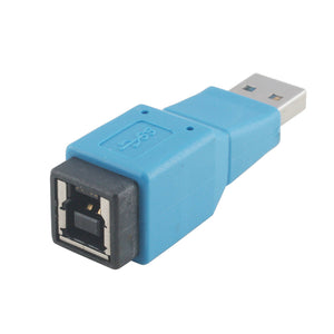 USB 3.0 Adapter | USB 3.0 Type A Male to USB Type B Female Converter