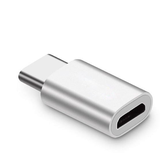 USB-C male to Micro USB female Conversion Adapter for Charging Android Smart Phones
