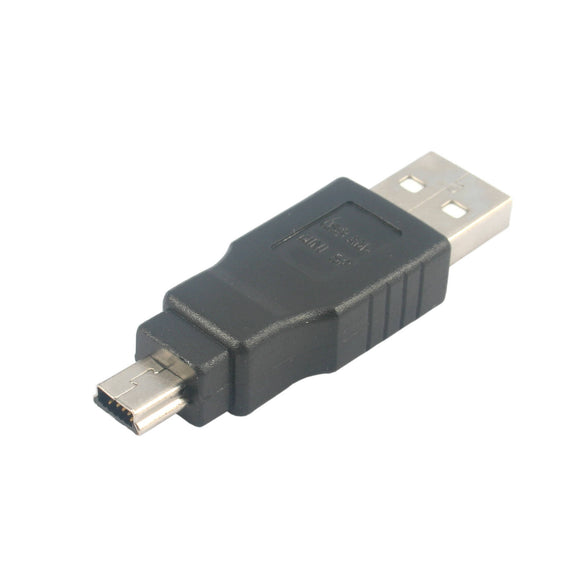 USB Adapter (USB A Male - Mini USB 5 Pin Male Converter)
