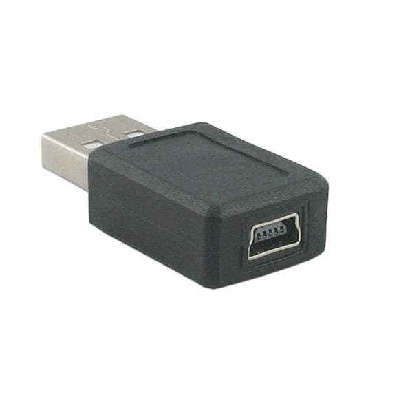 USB Adapter (USB Type A Male to Mini USB 5 pin Female Converter)