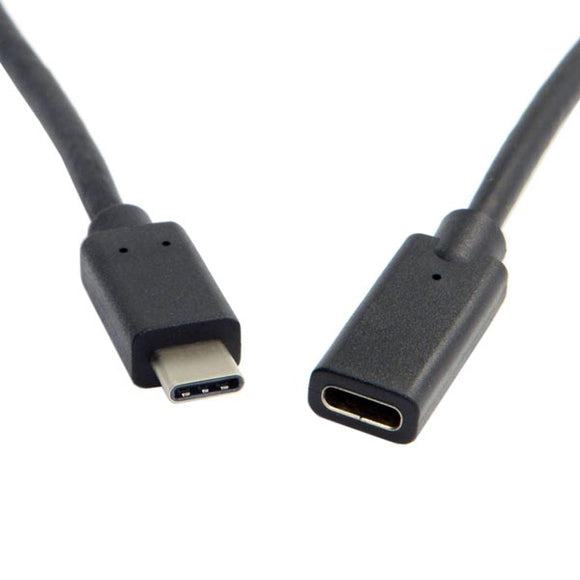 2-feet (60cm) USB Type-C Male to USB Type-C Female Cable / Extension Cable / Extender Cord