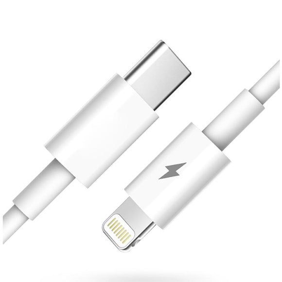Super Short USB-C to Lightning Cable for iPhone / iPad Pro / iPad Mini / iPad Air / iPod