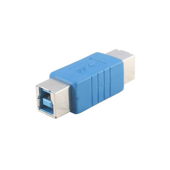USB 3.0 Adapter | USB B Female to USB B Female Adapter (USB Type B Female to USB Type B Famale Converter)