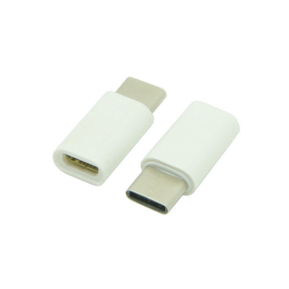 USB Adapter | Micro USB Female to USB-C Male Adapter / Converter