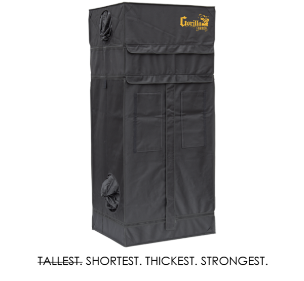 Grow Tent 2' x 2.5' | Shorty
