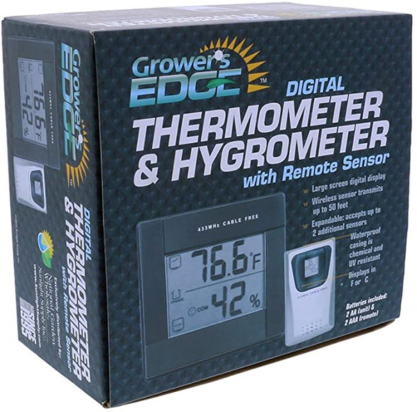 Thermometer/Hygrometer with Sensor