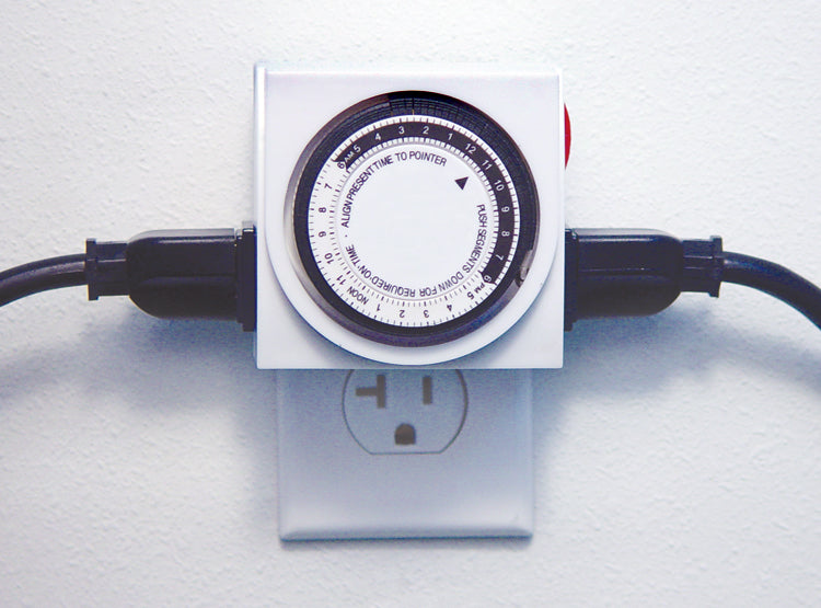 Apollo 8 - Two Outlet Mechanical Timer