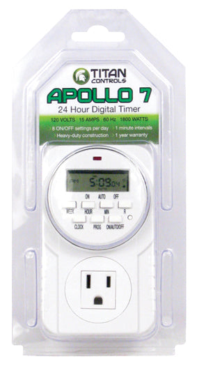 Apollo 7 - Digital Timer