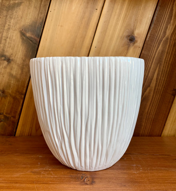 Ceramic Planter | White Square