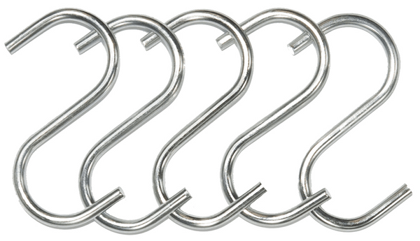 S Hook 16mm | 5 Pack