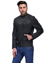 Load image into Gallery viewer, Teakwood Brown Mens Genuine Leather Jacket
