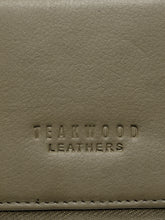 Load image into Gallery viewer, Teakwood Men Genuine Leather Bi Fold Zip Closure Wallet (Olive)