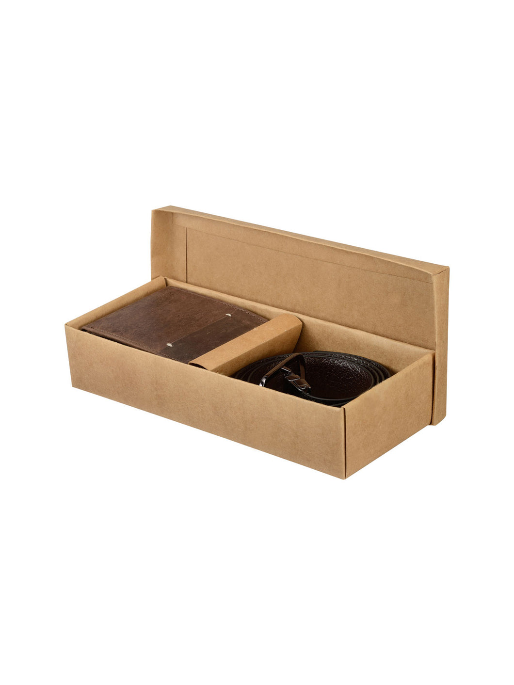 Teakwood Genuine Leather Combo Gift Set