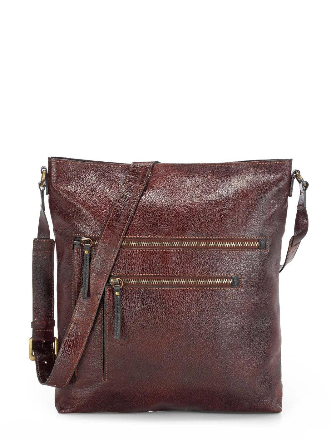 Teakwood Genuine Leather Unisex Bag