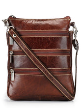 Load image into Gallery viewer, Teakwood Genuine Leather Unisex Bag