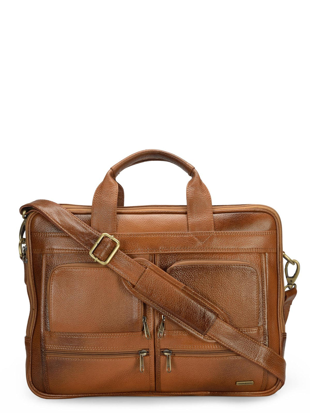 Teakwood Genuine Leather Laptop bag