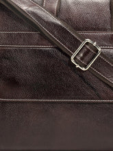 Load image into Gallery viewer, Teakwood Genuine Leather Laptop bag