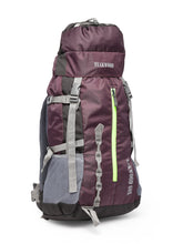 Load image into Gallery viewer, Teakwood Polyester Voilet Rucksack