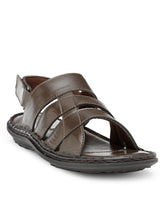 Load image into Gallery viewer, Teakwood Brown Daily Wear Sandals