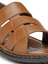 Load image into Gallery viewer, Teakwood Tan Daily Wear Sandals