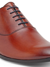 Load image into Gallery viewer, Teakwood Genuine Leather Tan Oxford Shoes