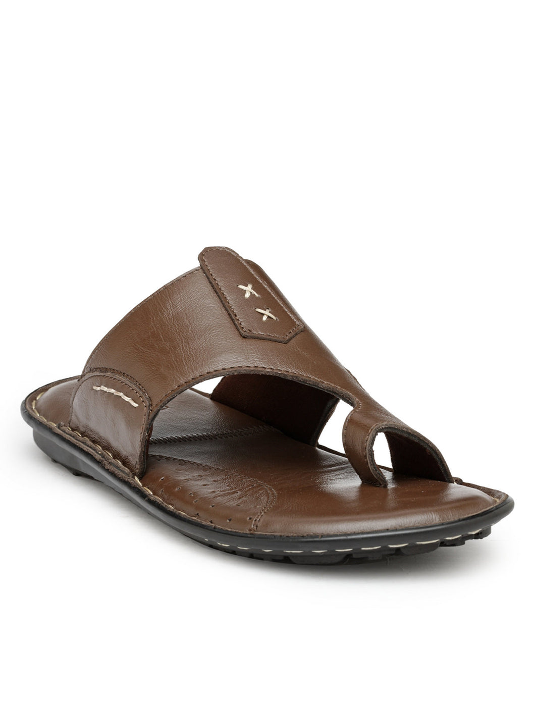 Teakwood Brown Daily Wear Sandals