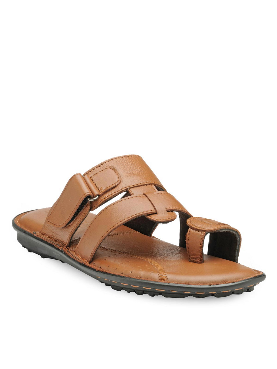 Teakwood Men's Leather Outdoor Slippers & Sandals Footwear