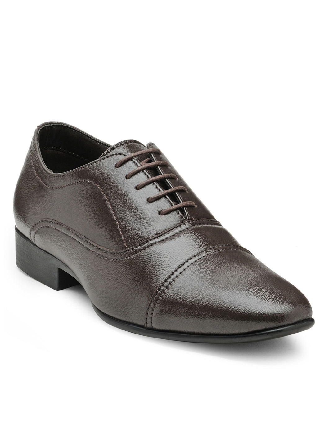 Teakwood Leather Men's Brown Derby Shoes