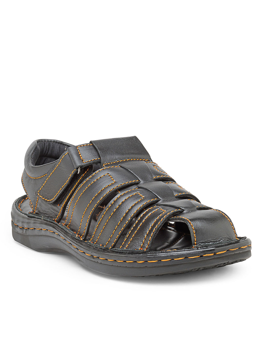 Teakwood Men's Real Leather Sandals