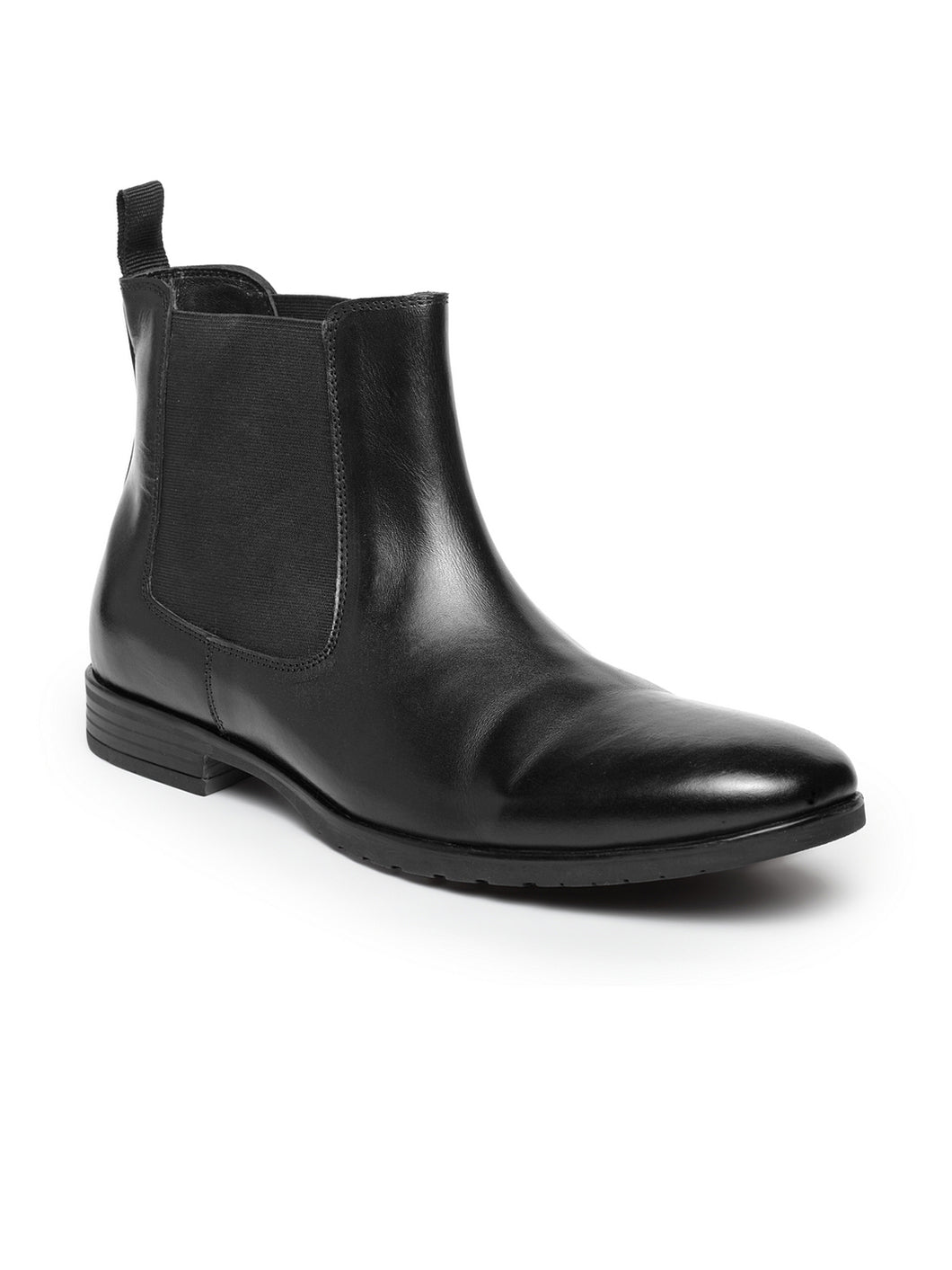 Teakwood Leathers Men's Black Chelsea Boots