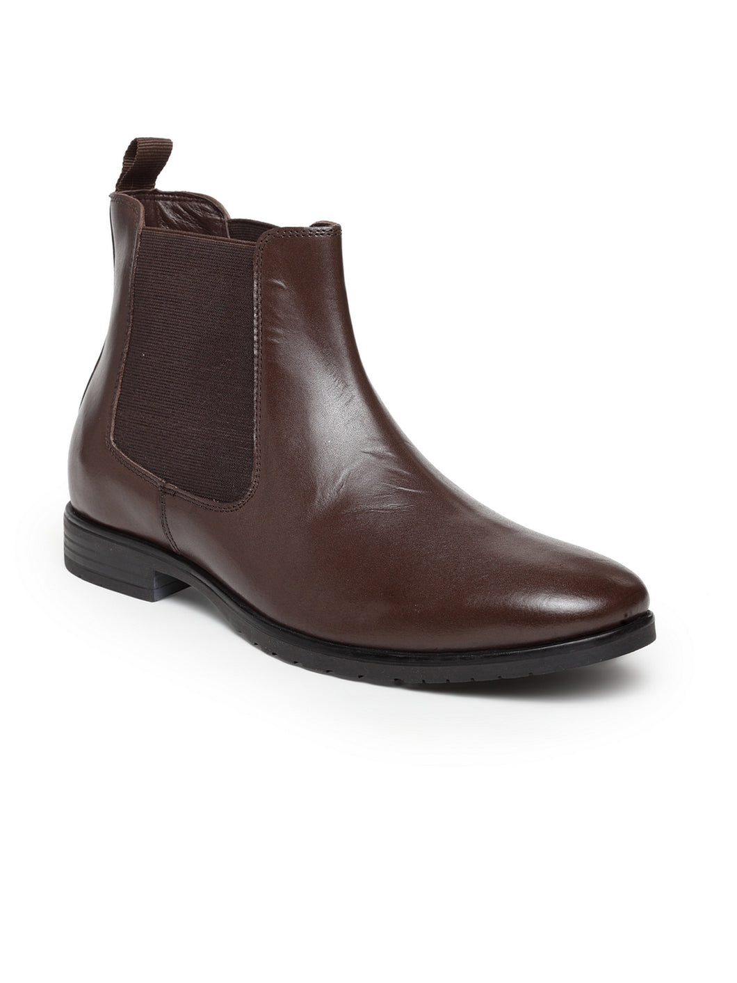 Teakwood Leathers Men's Brown Chelsea Boots