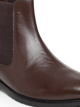 Load image into Gallery viewer, Teakwood Leathers Men's Brown Chelsea Boots