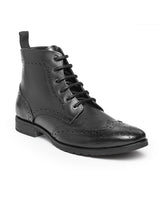 Load image into Gallery viewer, Teakwood Leathers Men's Black Boots