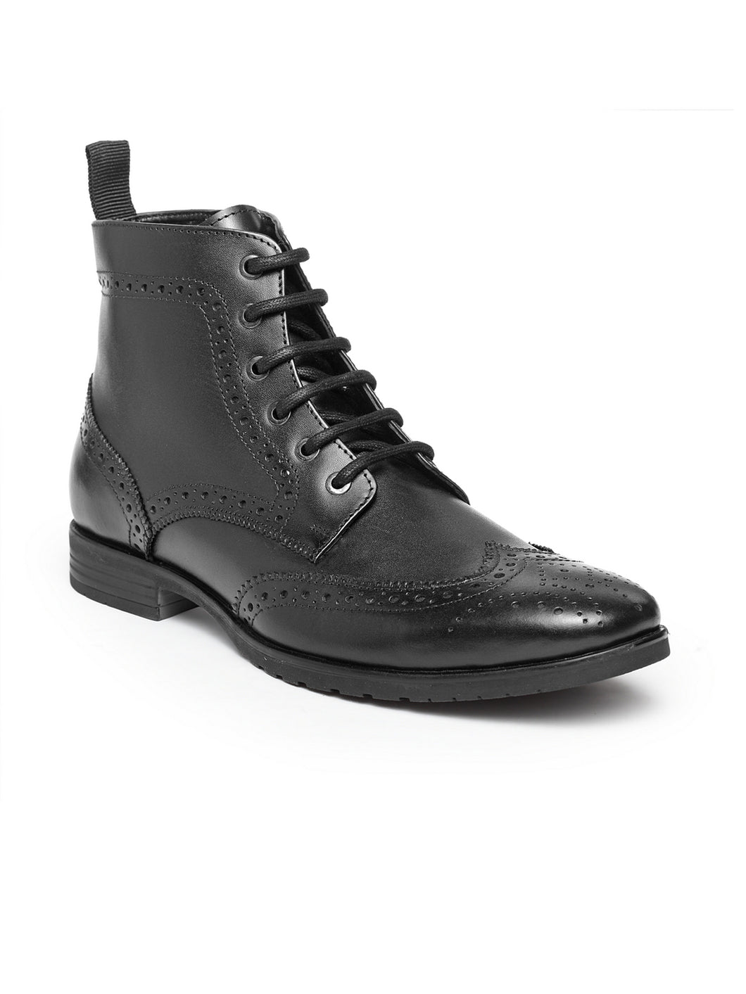 Teakwood Leathers Men's Black Boots