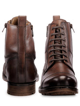 Load image into Gallery viewer, Teakwood Genuine Leather Mens Boots