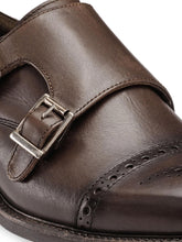 Load image into Gallery viewer, Teakwood Genuine Leather Monk Shoes