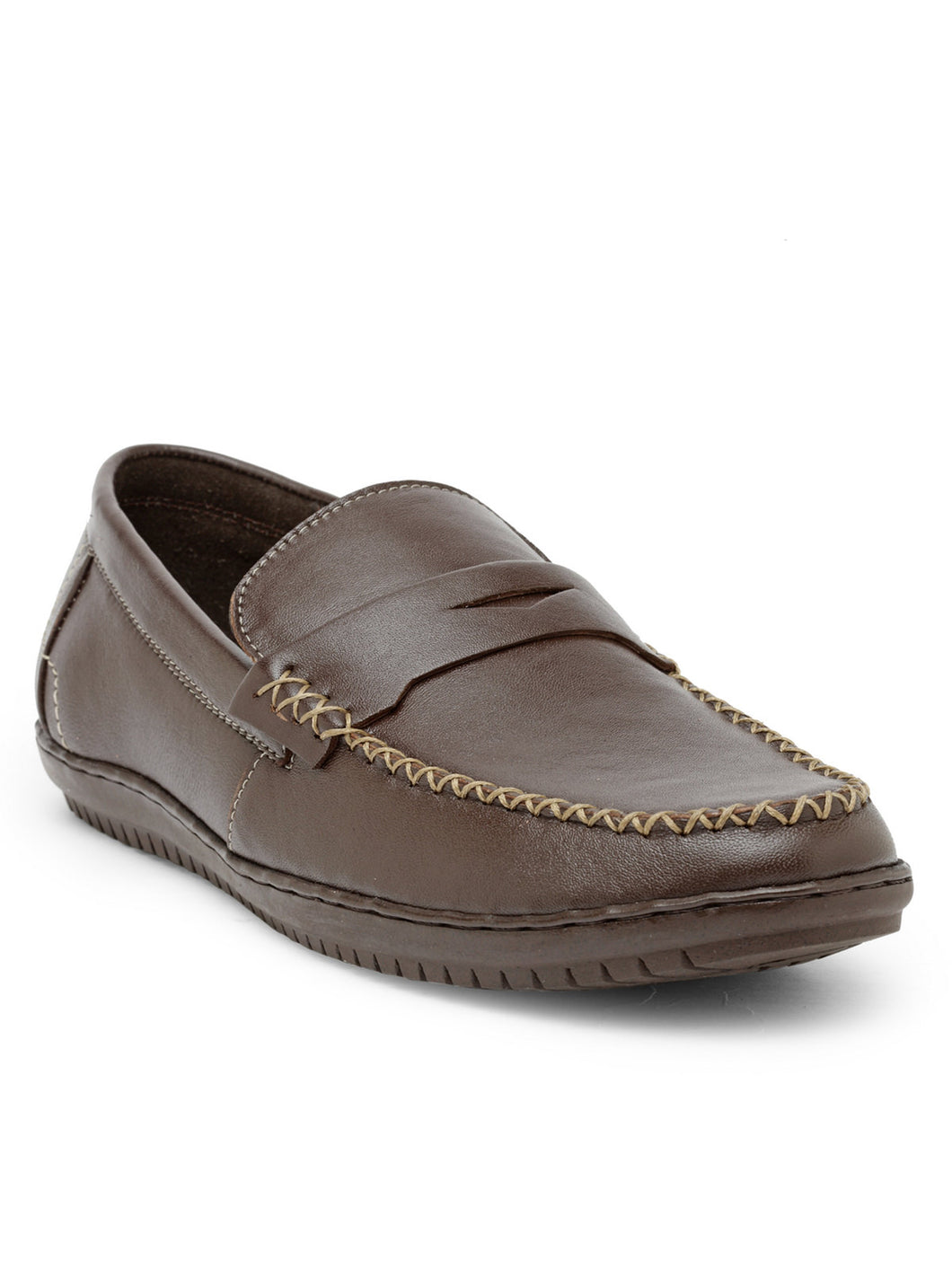 Teakwood Leather Brown Casual Shoes