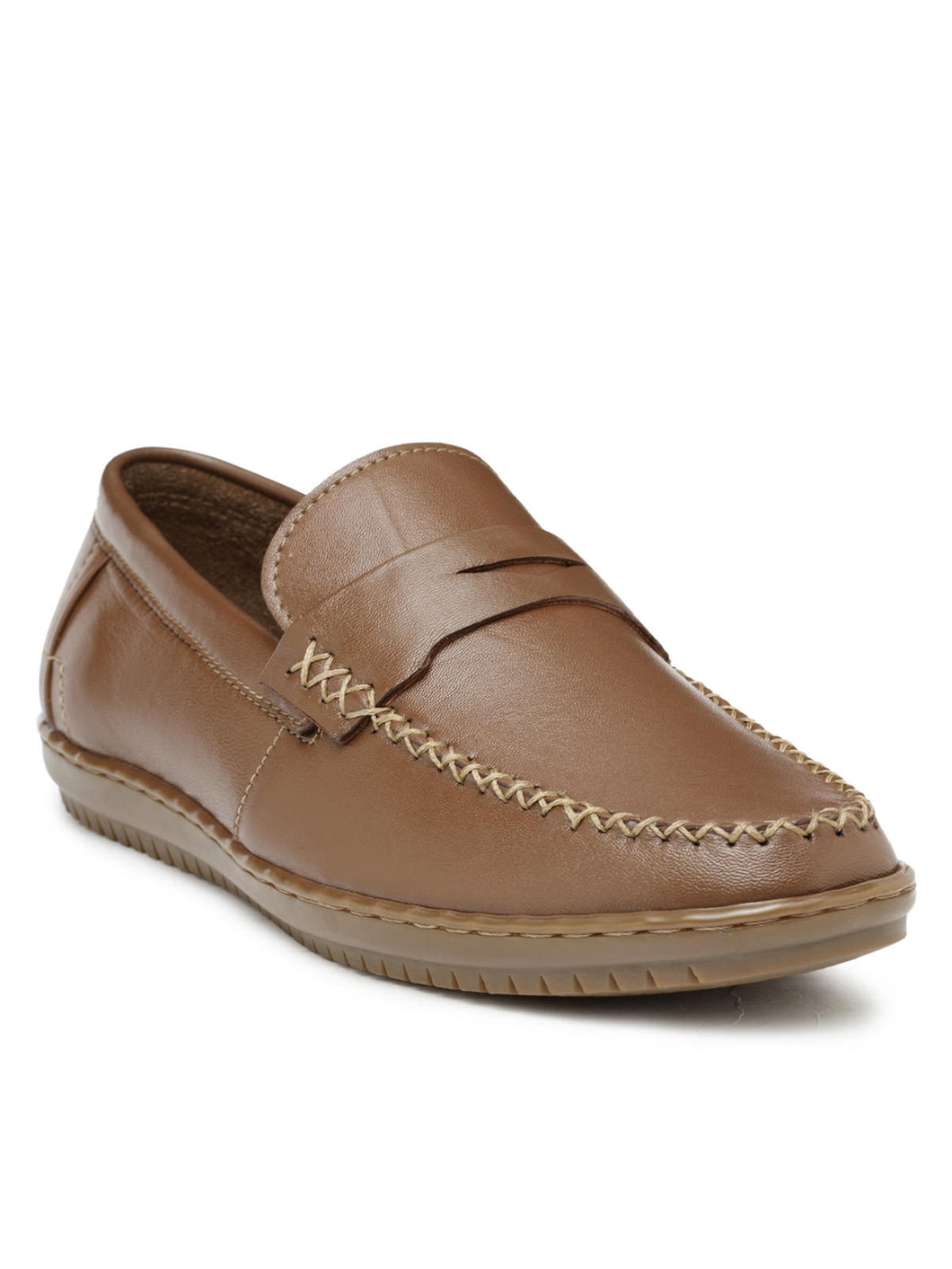 Teakwood Leather Tan Casual Shoes