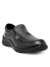 Load image into Gallery viewer, Teakwood Leather Black Casual Shoes