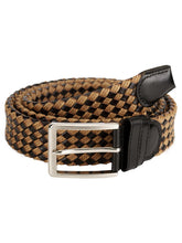 Load image into Gallery viewer, Teakwood Men Black Leather Reversible Belt