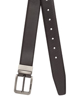 Load image into Gallery viewer, Teakwood Leathers Men Black Leather Belt