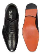 Load image into Gallery viewer, Teakwood Genuine Leather Derby Shoes