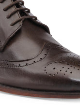 Load image into Gallery viewer, Teakwood Genuine Leather Derby Shoes Shoes