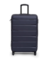 Load image into Gallery viewer, Teakwood ABS Medium Trolley Bag - Blue