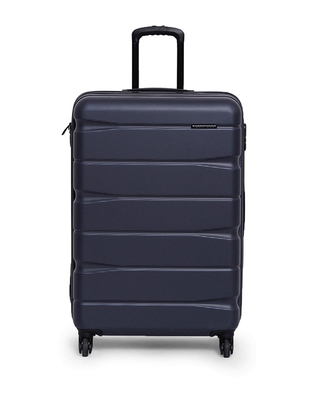Teakwood ABS Medium Trolley Bag - Blue
