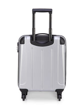 Load image into Gallery viewer, Teakwood Nylon Small Trolley Bag - Silver