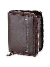Load image into Gallery viewer, Teakwood Genuine Leather Wallet - Brown