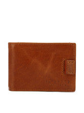 Load image into Gallery viewer, Teakwood Genuine Leather Tan Colour Money Clip