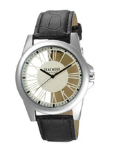 Load image into Gallery viewer, Teakwood Leather Beige Men's Analog Watch